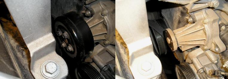 шкив помпы форд фокус 2