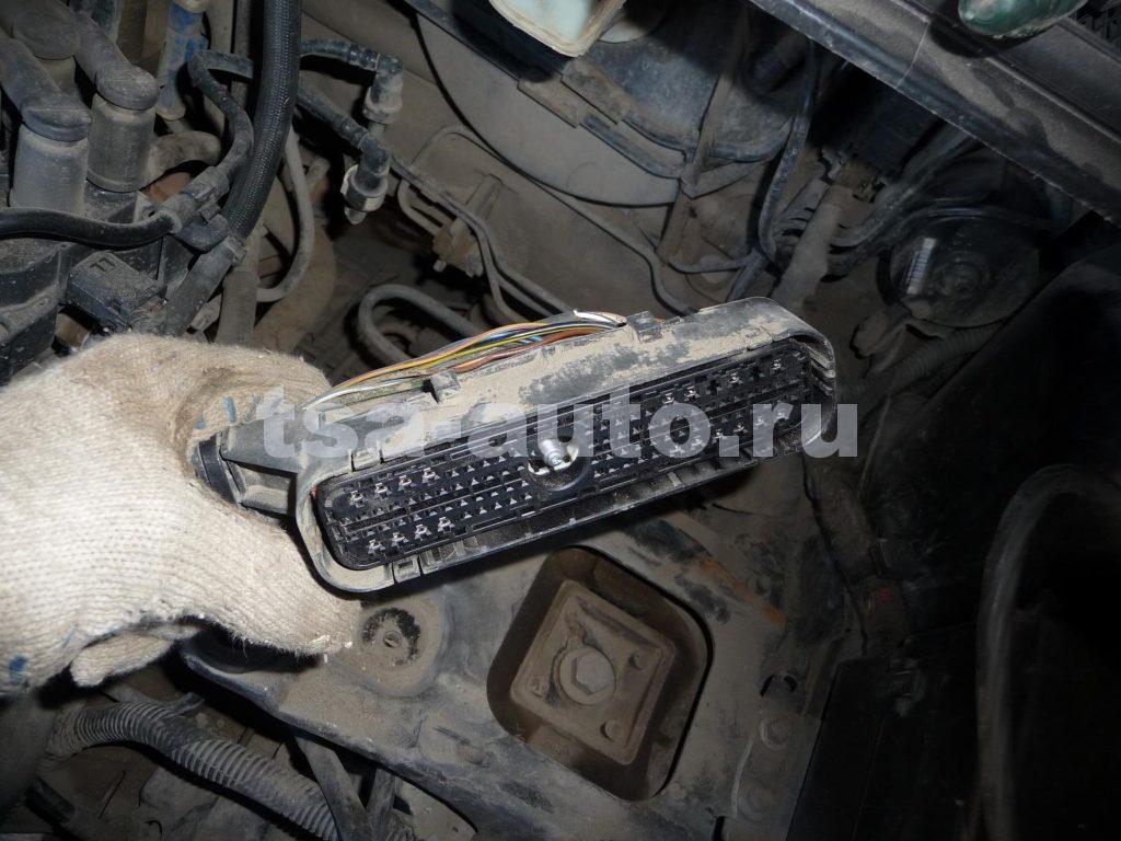 разъем ЭБУ форд фокус 2