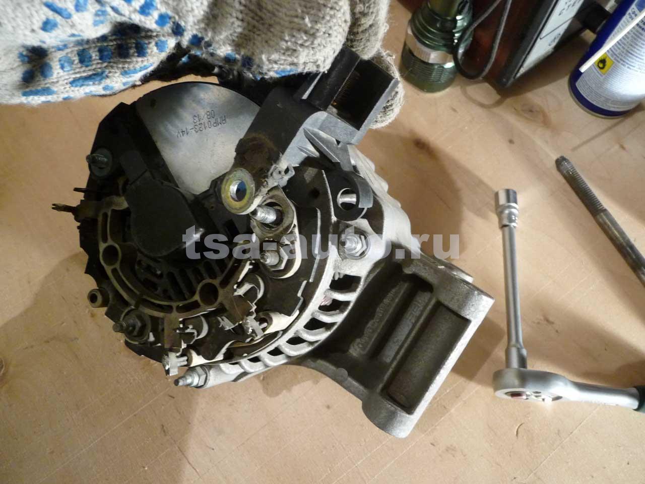 Ремонт генератора на форд фокус 2 своими  918