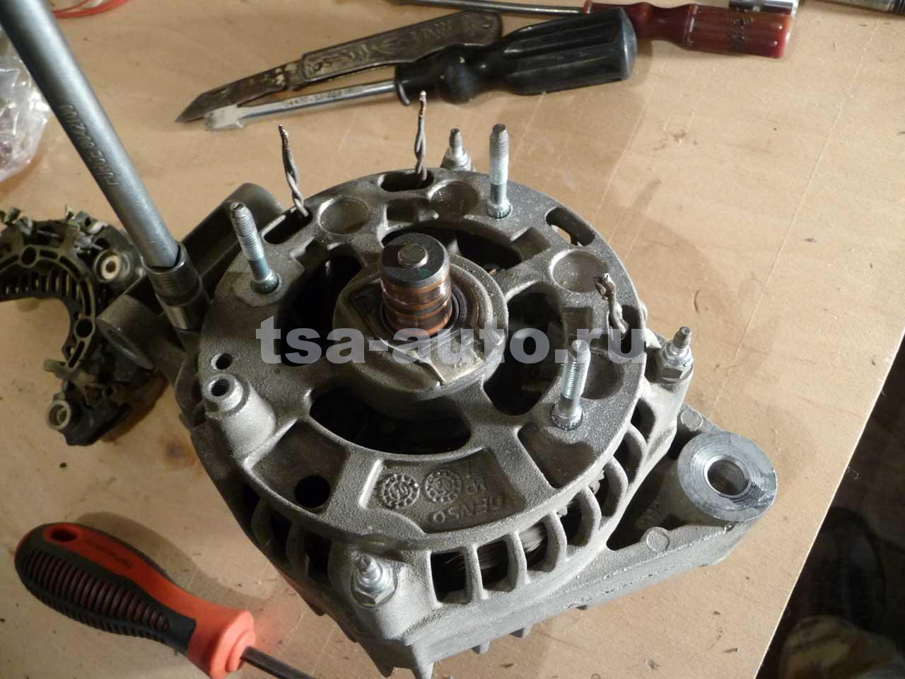Ремонт генератора на форд фокус 2 своими  985