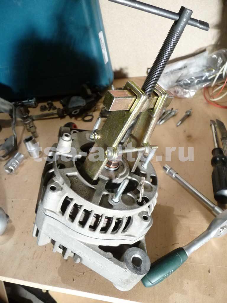 генератор форд фокус 2 снятие крышки