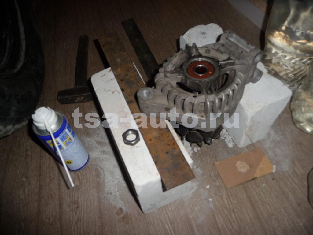 генератор форд фокус 2 снятие вала