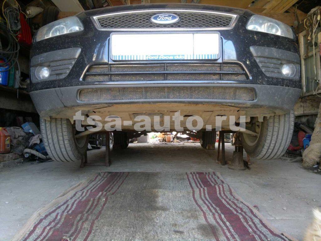 форд фокус 2 защита двигателя