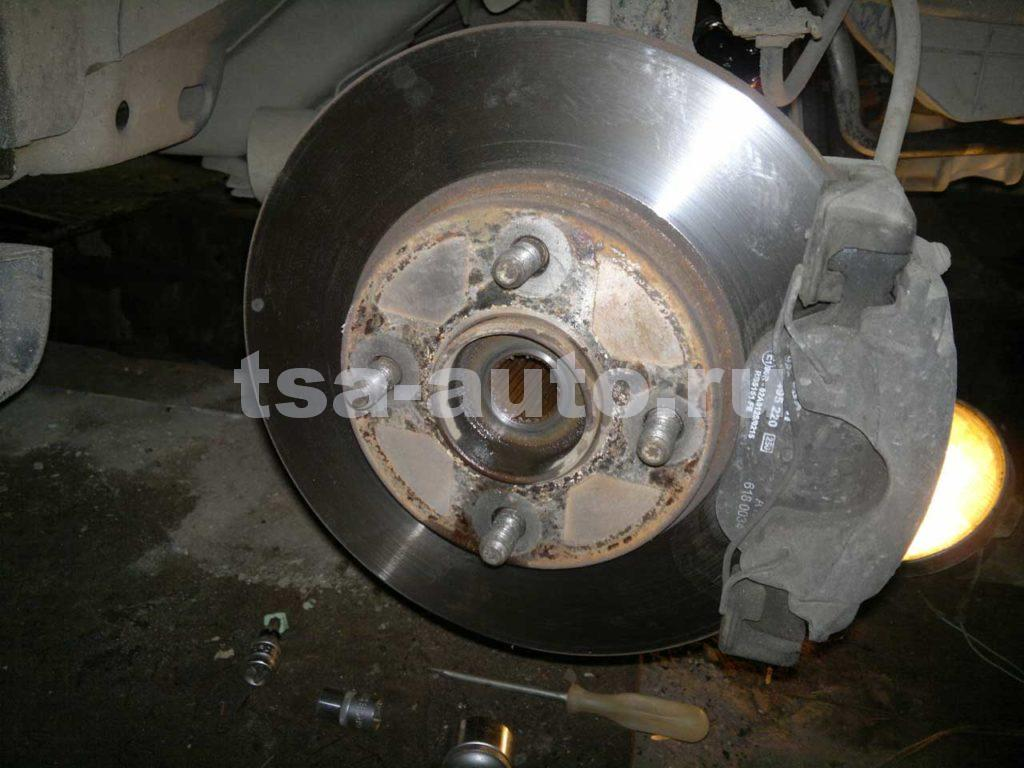 тормозной диск и ступица ford fusion