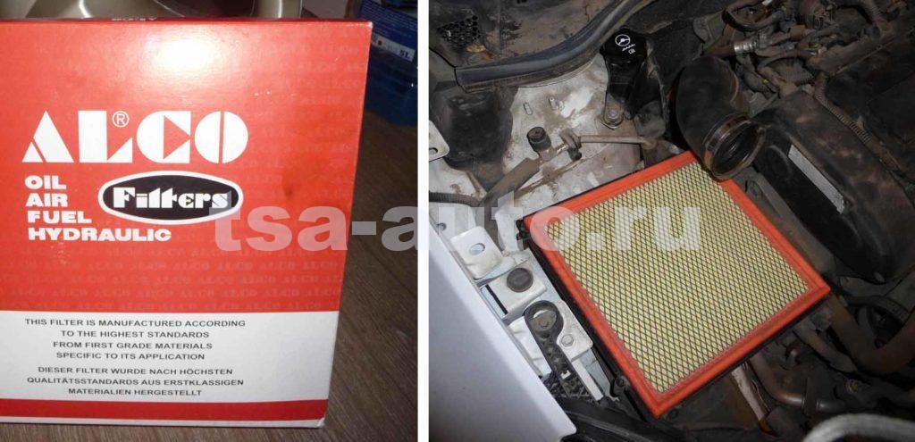 Фильтр двигателя Alco Filters MD8530 A16XER Опель Астра j